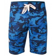 SHORT PELAGIC 4-TEK FISH CAMO BLUE