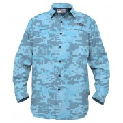 CHEMISE PELAGIC ECLIPSE GUIDE DIGITAL CAMO BLUE